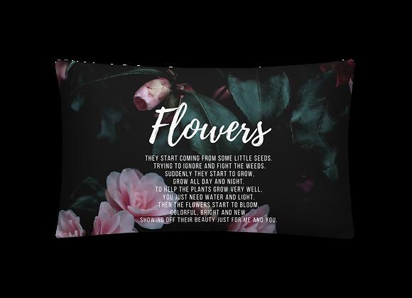 """""""Flowers"""" Pillow"""