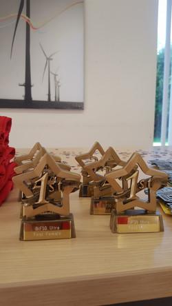 BIF50 trophies
