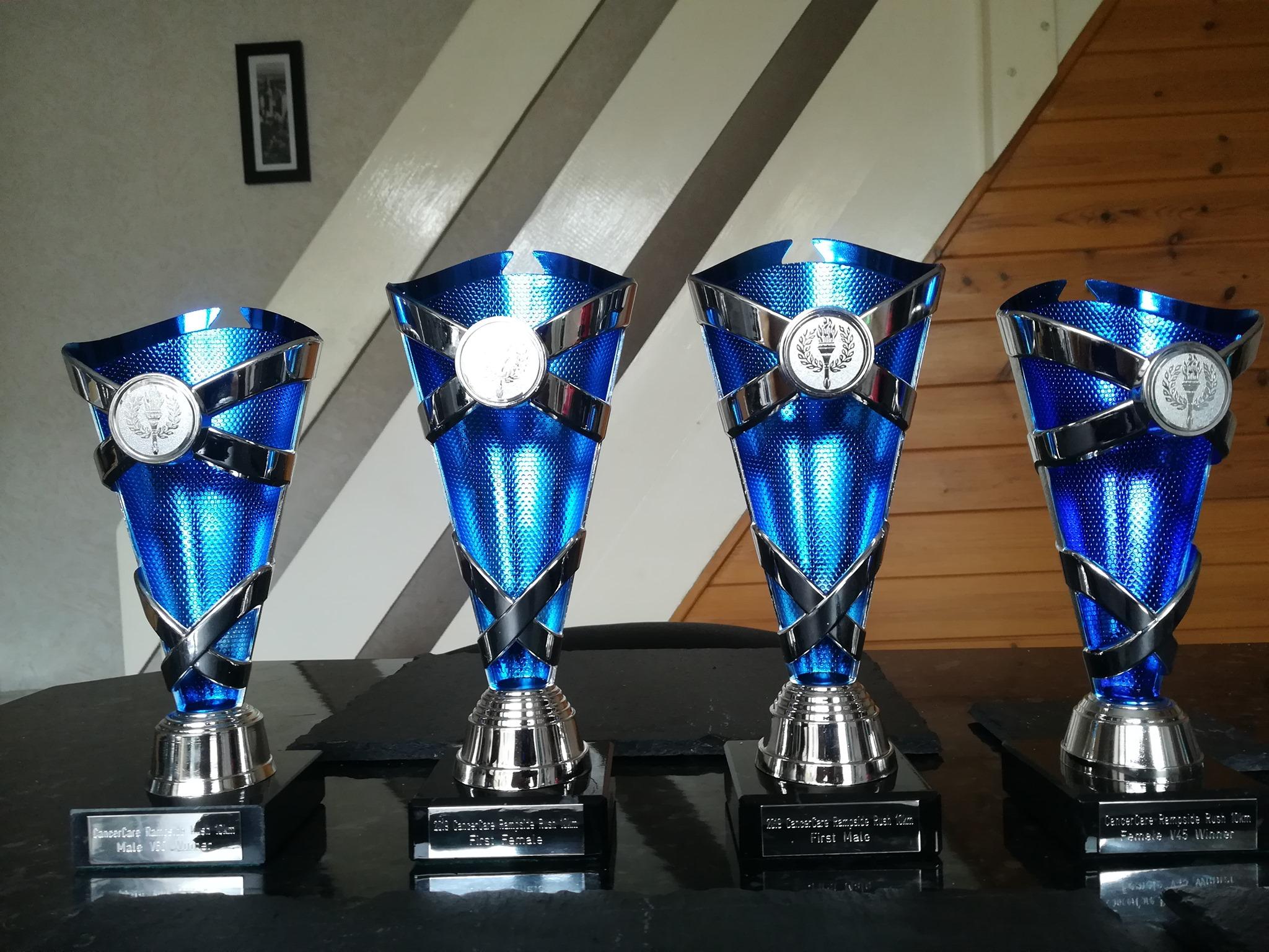 Rampside Rush trophies