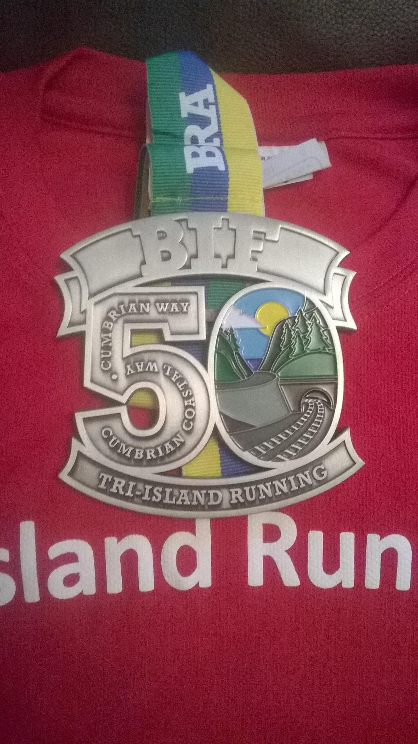 BIF 50 medal & t2