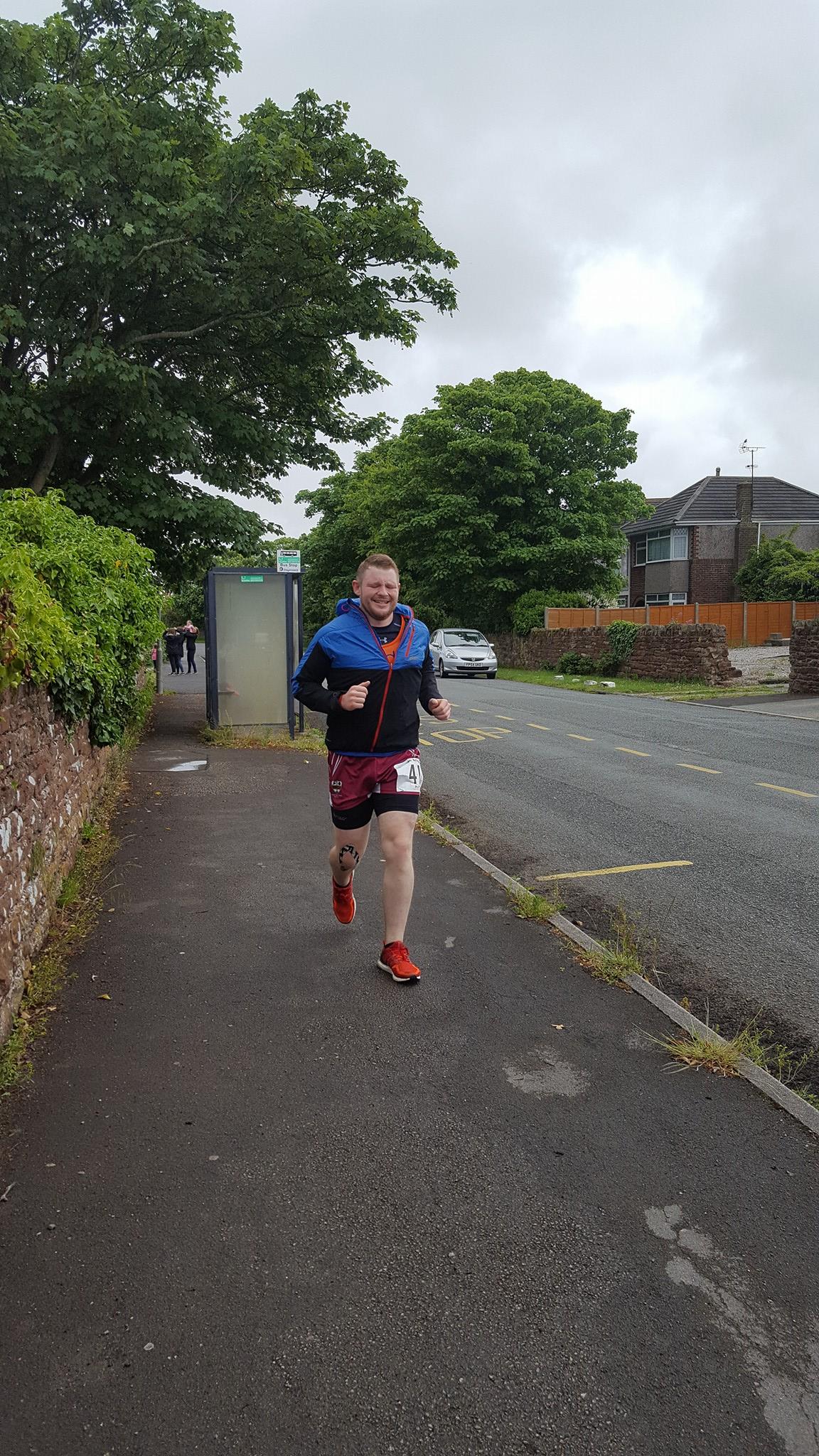 Matt Robson Day 1 finish