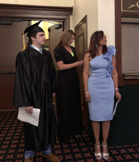 The Administrators and a Graduate
