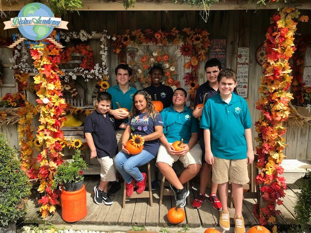 The Divine Academy students take a field trip to the Flamingo Road Nursery in Davie, FL.