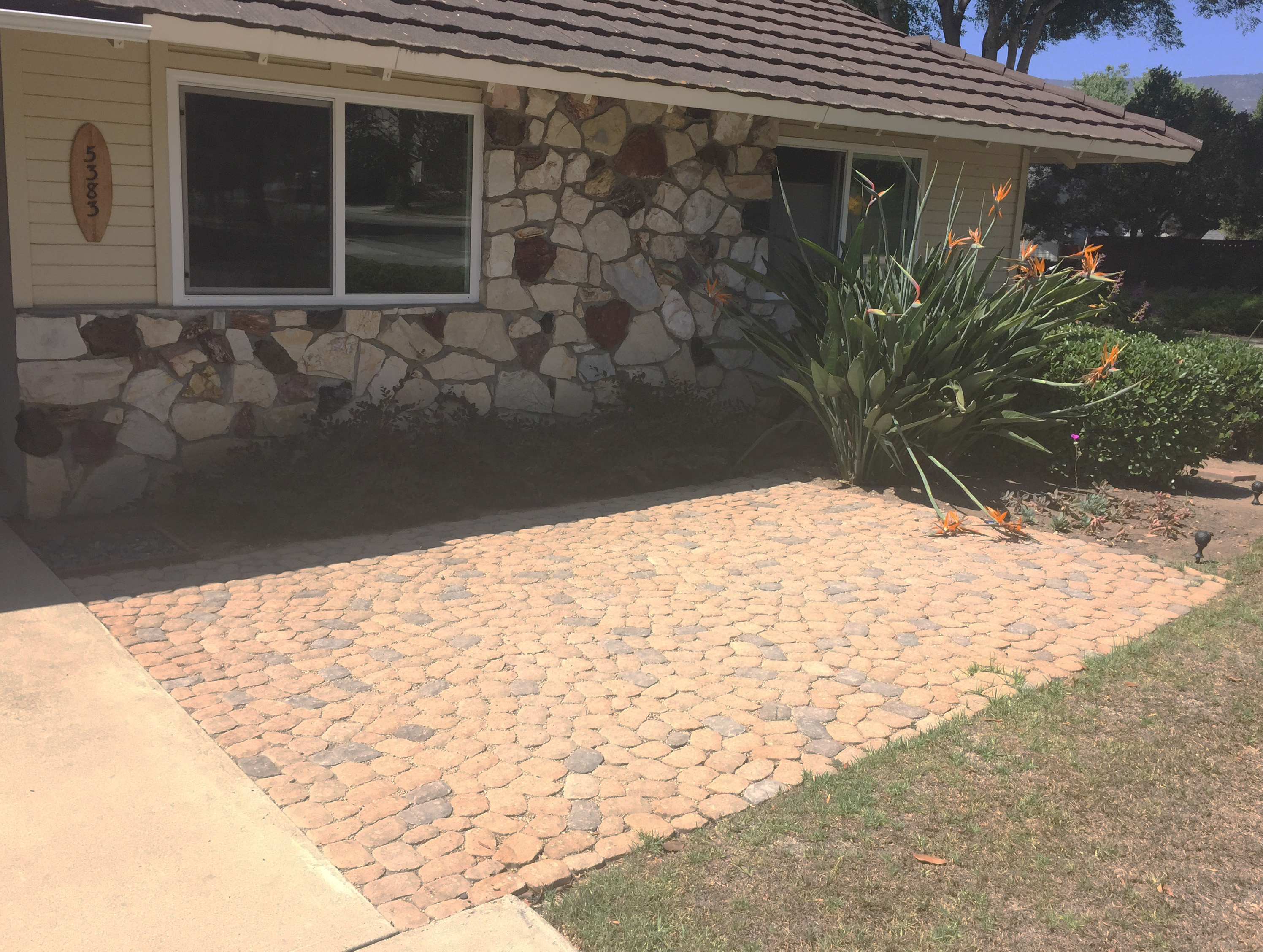 Permeable Paver Patio