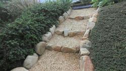 Gravel Staircase