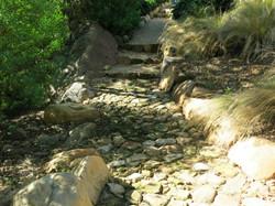 Dry creek walkway