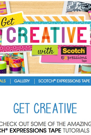 Get Creative app page banner