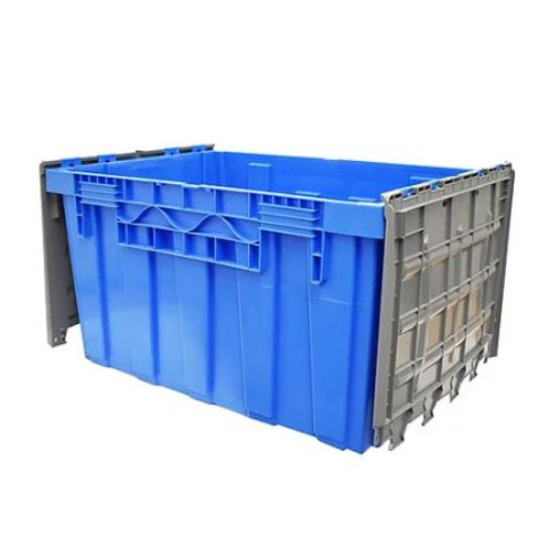 Caja de Plastico Con Tapa de Bisagras Colosal Culiacan 87cm x 60cm x 48cm