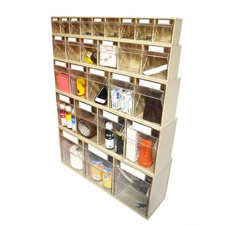 Sistema de Gavetas ERNI de 27 cassettes