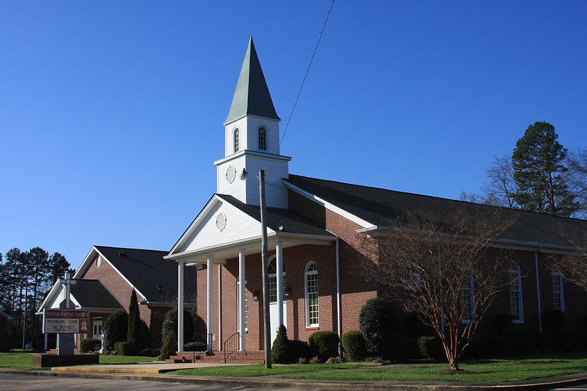 Churches in Cherryville, NC, Second Baptist Cherryville