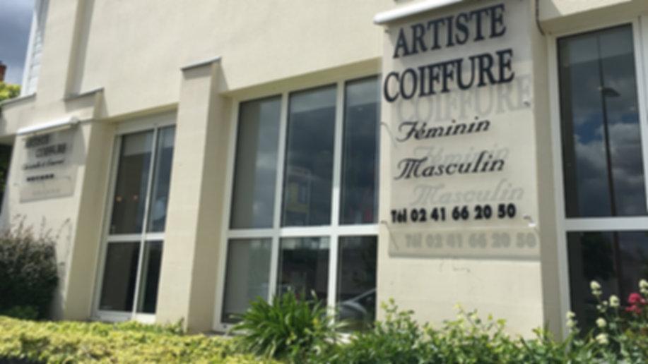 vitrine salon artiste coiffure
