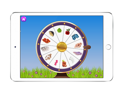 Spin the Wheel articulation game - Artic