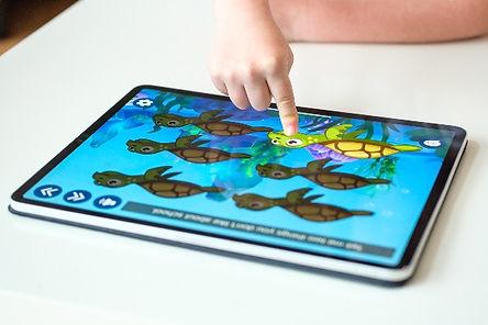 Turtle Talk App: Pacing Board for Speech