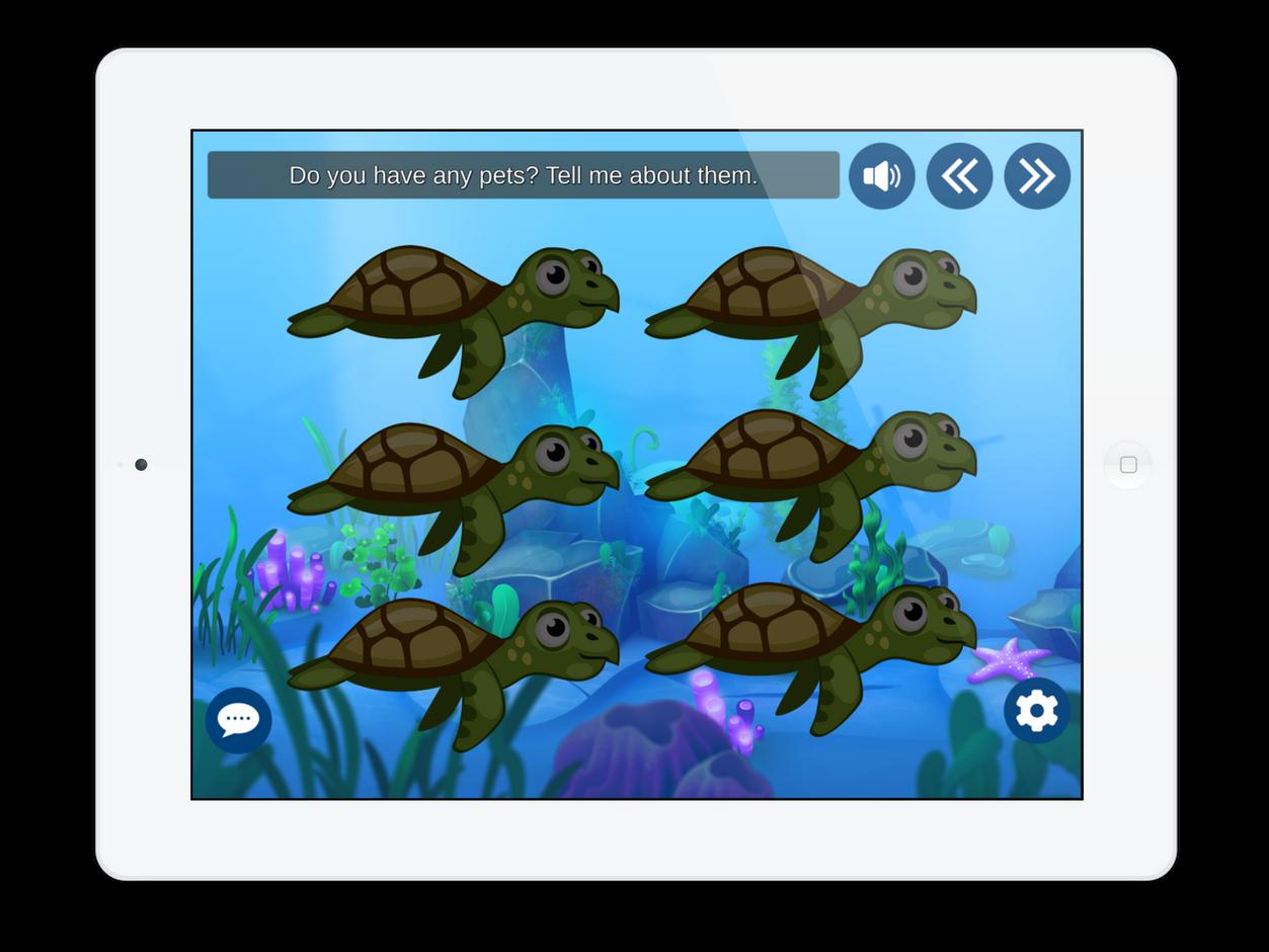 Pacing Board for Speech: Turtle Talk