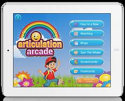 Articulation Arcade app by Aptus Speech Therapy