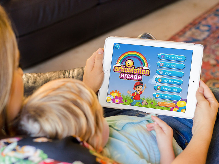 Speech Therapy Apps: Articulation Arcade app by Aptus Speech