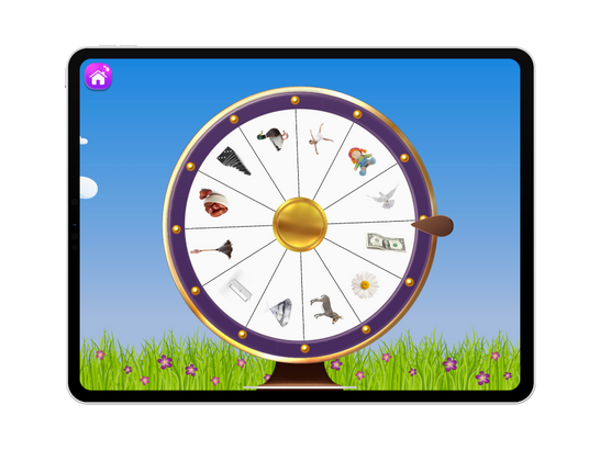 Articulation Arcade by Aptus Speech Therapy - Spin the Wheel articulation game