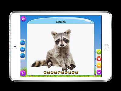 Flashcards - Articulation Arcade app by