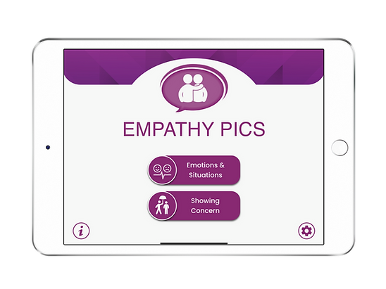 Speech Therapy Apps for Autism & Social Skills: Empathy Pics