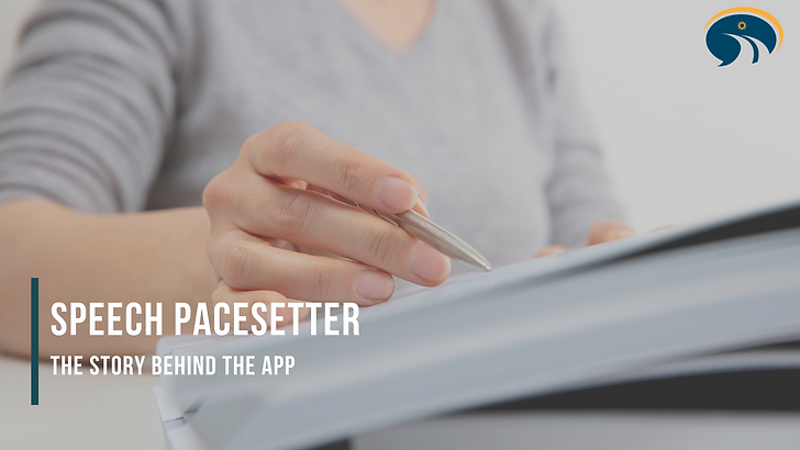 Speech Pacing : The Speech Pacesetter St