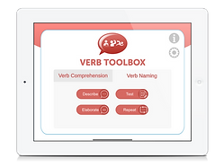 Verb Toolbox by Aptus Speech Therapy