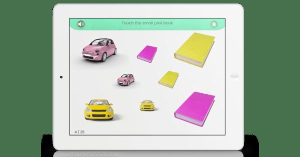 Keyword Understanding: Object, Size & Color Activity (3 keyword level)