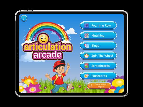 Articulation Arcade by Aptus Speech Therapy