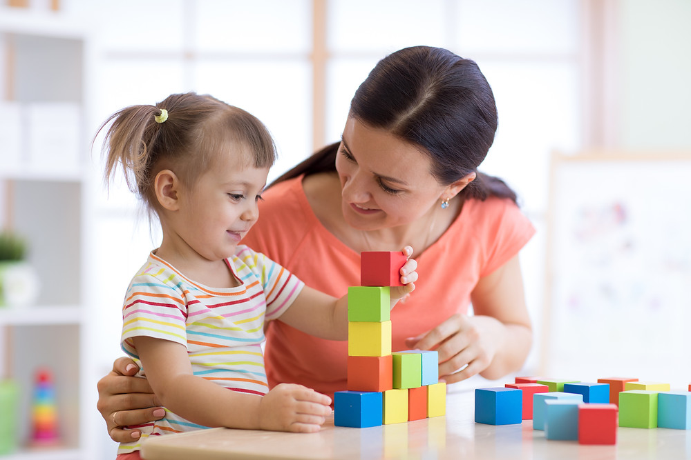 supporting children with speech sound difficulties - talk during playtime and everyday routines