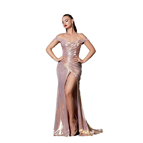 Vestido Rose Gold by Cinderella Divine