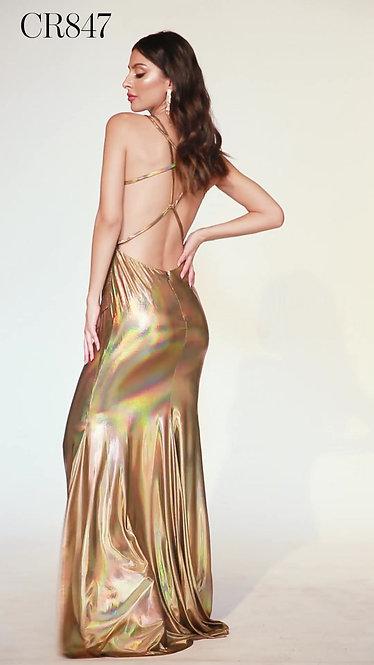 Vestido Gold by Cinderella Divine