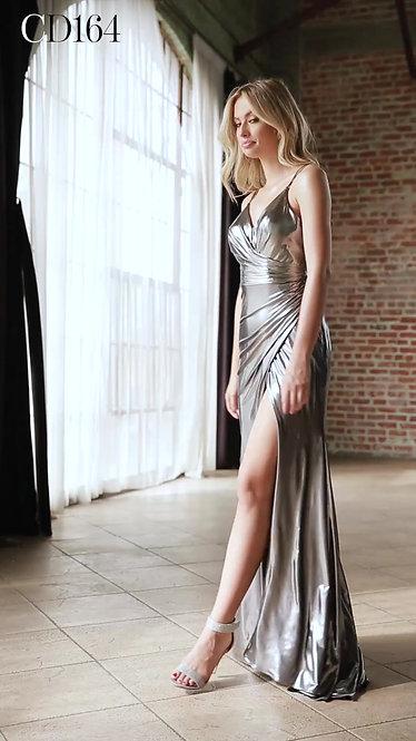 Vestido Dark Silver by Cinderella Divine