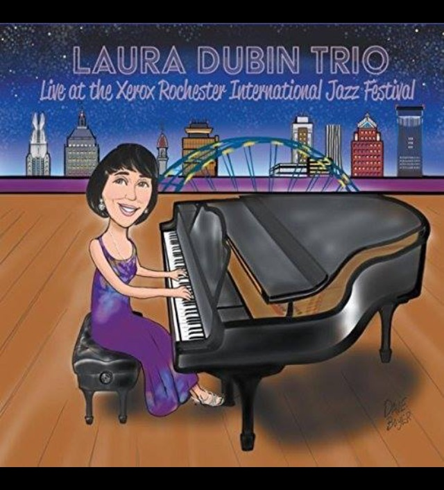 CD Jazz Cover Caricature