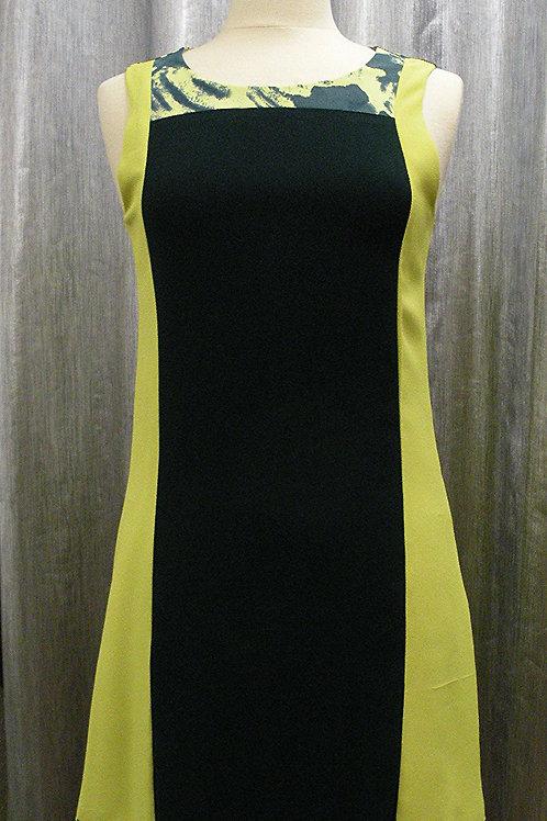 Zitronenfarbiges Kleid
