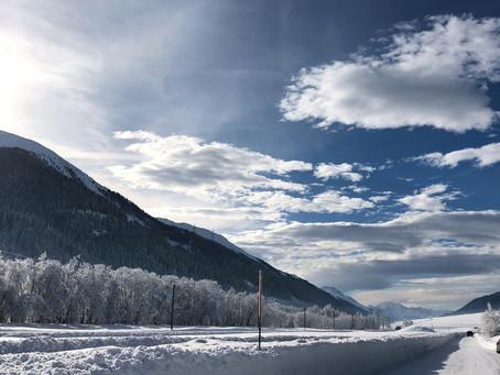 Winterzeit im schönen Goms
