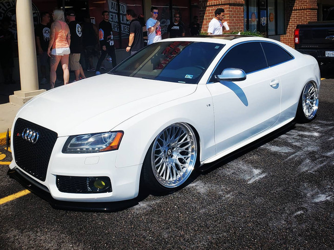 Audi S5 wash and seal