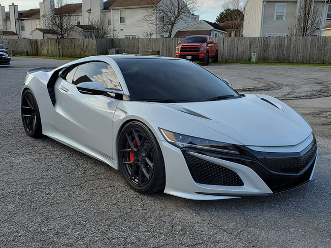 Topped off the Acura NSX with a ceramic coating sealant