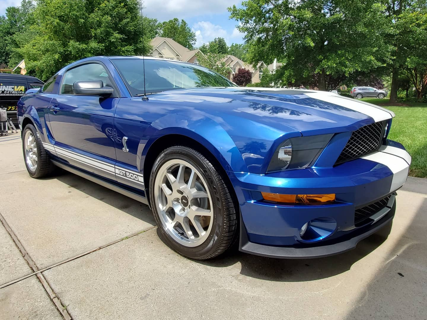 Ford Shelby GT500 Mustang detail