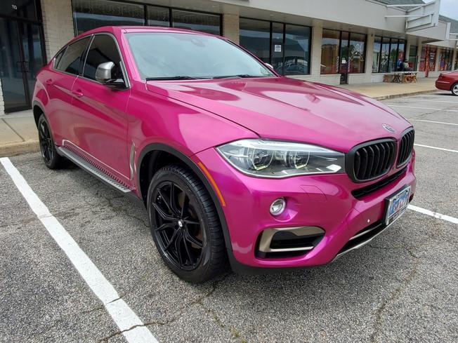 Custom wrapped BMW X5