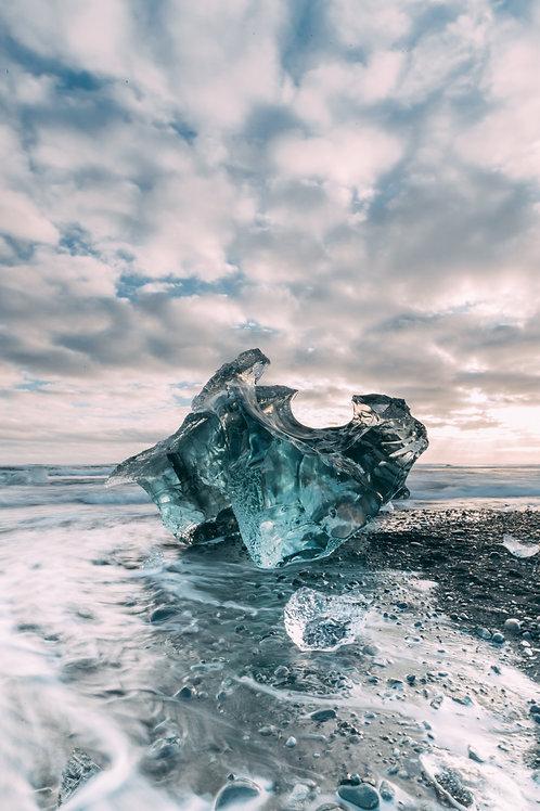 Bloque de glace Islande