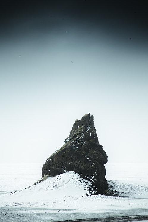 Dark rocher Islande