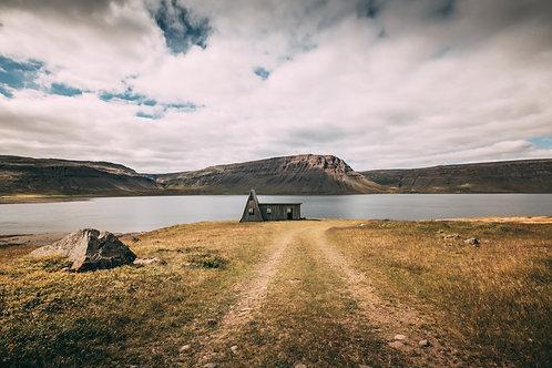 Cabane Westfjord large Islande