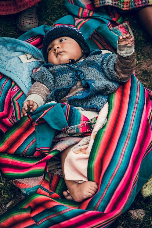 Portrait bébé Perou