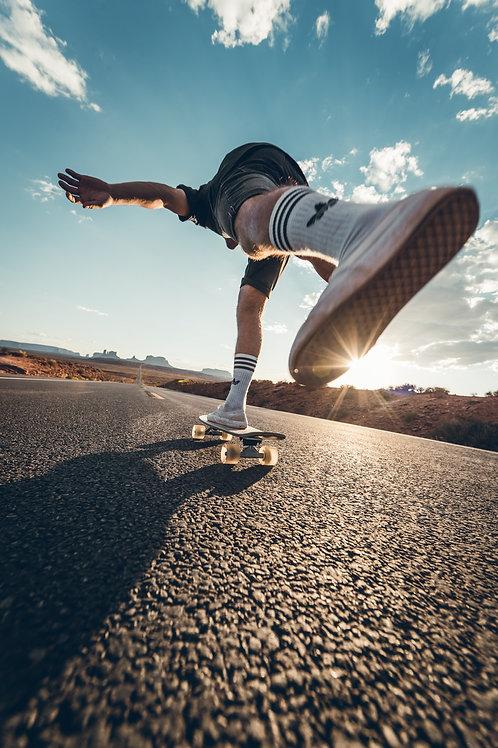 Skateboard Monument Valley Arizona