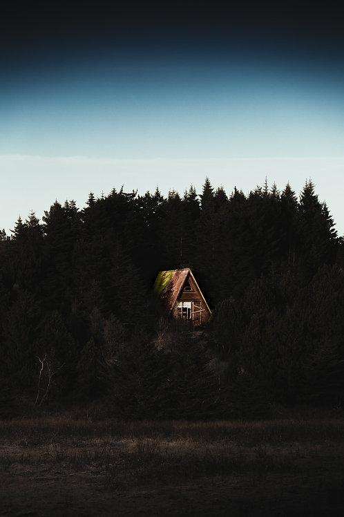Maison perdue Islande