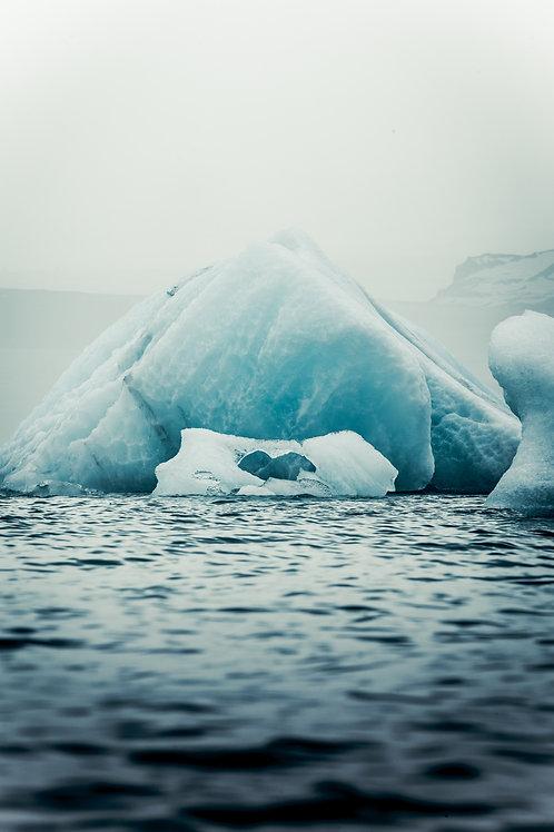 Iceberg coeur Islande