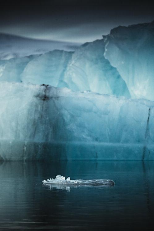 Glace flottante Islande