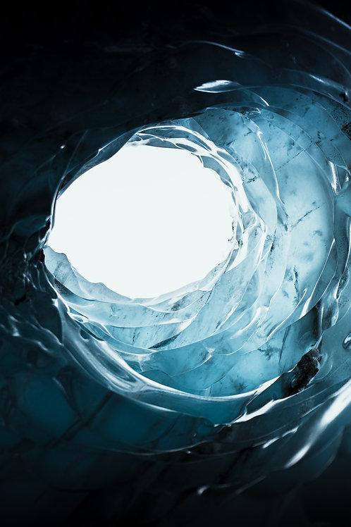Trou glace Islande
