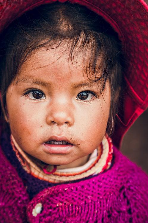Portrait enfant Perou
