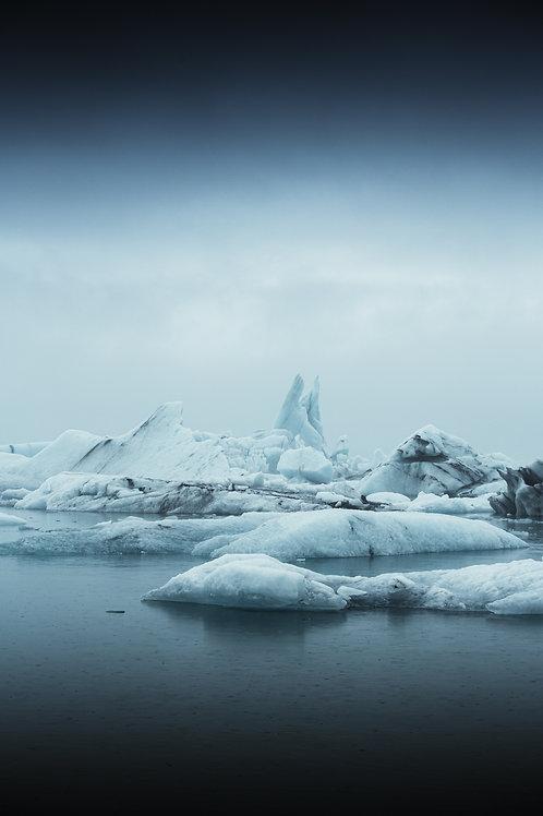 Iceberg pointu Islande