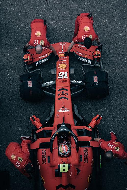 Top shot 2 Charles Leclerc F1 GP Monaco 2019